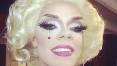 Melbourne professional drag queen Art Simone was forced to delete her personal Facebook profile.