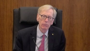 High Court judge Commissioner Kenneth Hayne is overseeing the banking royal commission.
