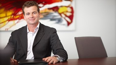 Helping his mate: Don Mackinnon is a partner in a New Zealand legal firm.