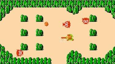 The original <i>Legend of Zelda</i> first released in Australia in 1987.