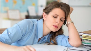 Fewer people today think that not getting enough sleep is a good idea.