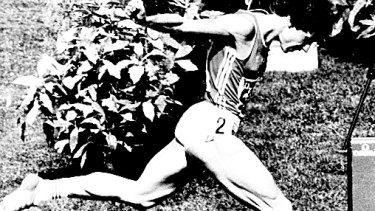 Doubt: Marita Koch set the 400 metres world record in Canberra in 1985.
