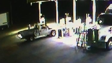 The Stoccos stole fuel from a service station in South Gundagai on Saturday.