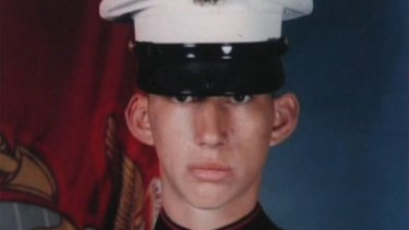 Driver in his days as a marine.