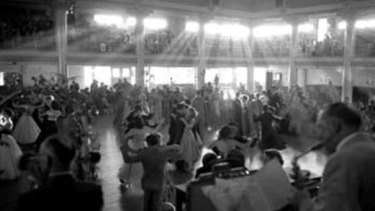 Cloudland Ballroom Brisbane in 1952.