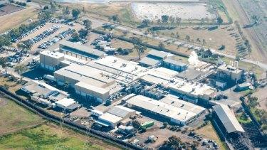 A JBS abattoir near Toowoomba, Queensland.