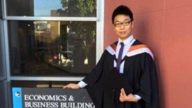 University of Sydney tutor Wei Wu