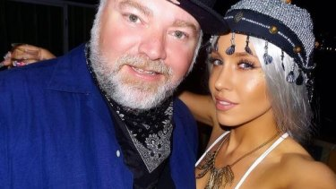 Sydney's favourite shock jock Kyle Sandilands and his long-term girlfriend Imogen Anthony.