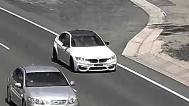 Images of Ricky Ciano's car travelling through the western outskirts of Sydney days before he was found dead.