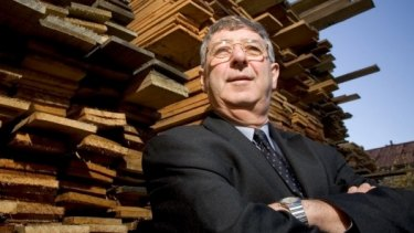 John Gay, insider trader and former chairman of bankrupt timber company Gunns Limited.