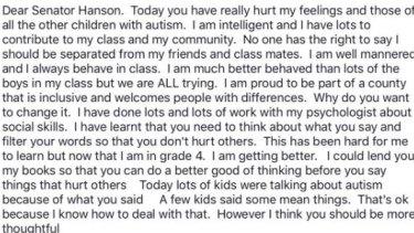 Ivory's open letter to Pauline Hanson.