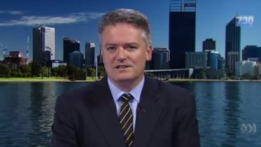 Matthias Cormann did not rule out the cigarette tax increase on 7.30.