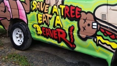 Wicked Campervan slogans are again under attack