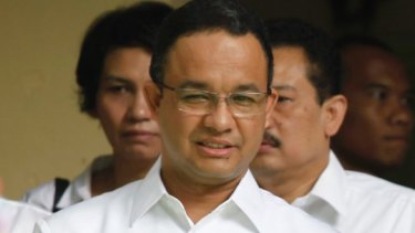 Anies Baswedan, when Indonesian education minister, in Jakarta in March 2016.