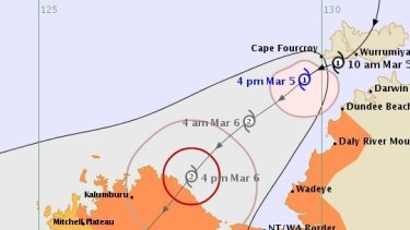 TC Blanche is likely to become the latest first cyclone to make landfall in any Australian cyclone season.