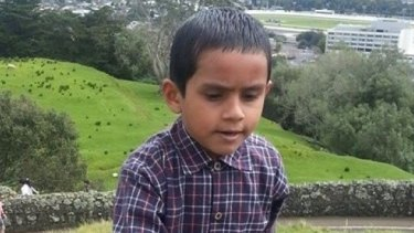 Pram Kafle, 9, died in a Waimate fire with his parents, Tej and Tika Kafle.