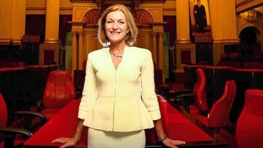 Australian Sex Party leader Fiona Patten.