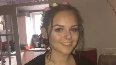 One of the posts shared of Olivia Campbell, missing after the Manchester explosion, but later confirmed dead.