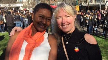 Wav Kariuki and Donna Qura.