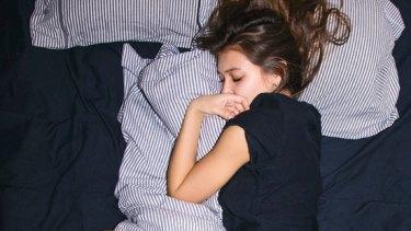 Koraly Dimitriadis prefers to sleep alone.