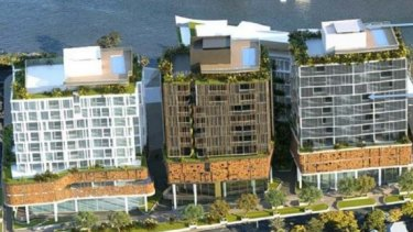 A development application has been received for a multi-storey development on Ozcare-owned land at Kangaroo Point.