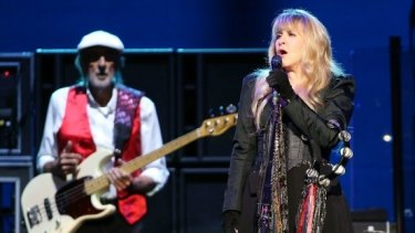 Stevie Nicks returns to Australian stages as the queen of 1970s stadium rock.