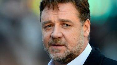 Regretful: Russell Crowe.