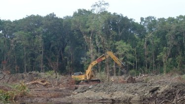 Australia's land-clearing rates are unmatched in the rich world - and accelerating again.
