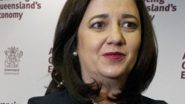 """Premier Annastacia Palaszczuk said the election showed that Queenslanders perceived Malcolm Turnbull to be """"out of touch""""."""
