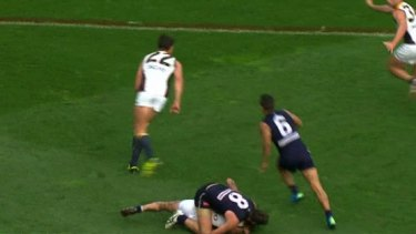 The tussle in which Chris Masten is alleged to have bitten Nick Suban.