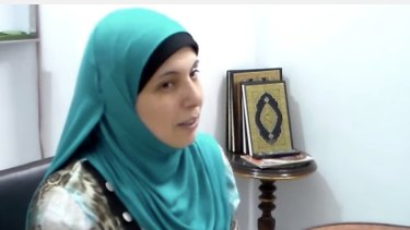 Inas al-Sattar has been preaching for over two years.
