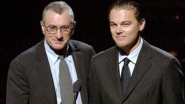 Robert De Niro and Leonardo DiCaprio.