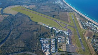 The proposed Sunshine Coast Airport expansion.