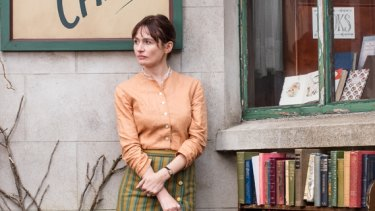 Emily Mortimer plays widow Florence in <i>The Bookshop</i>.