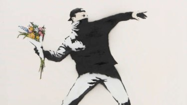 The Art of Banksy exhibition is on at The Paddock, Federation Square.