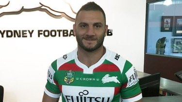 Helping out: Robbie Farah.