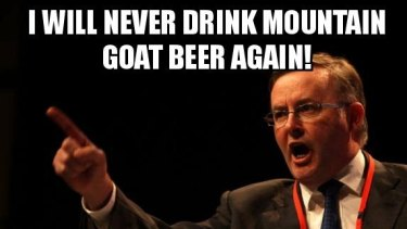 A Sydney microbrewery has named their new drop after Labor frontbencher Anthony Albanese