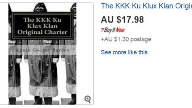 Online retailers are being urged to crack down on the sale of hateful goods.