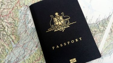 Passports only come in four standard colours.