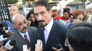 John McAfee: Intel is dropping the name of anti-virus software pioneer.