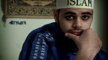 Former terror suspect Zaky Mallah, pictured in 2003.