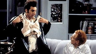 Sitcom Seinfeld was first to make the 'mansierre' famous.