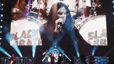 Ozzy Osbourne's' Black Sabbath rock Perth Arena on Friday night.