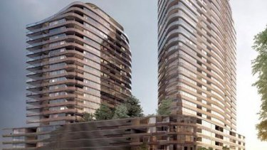 Proposal for 889 Collins Street