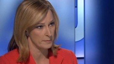 Tense interview: Leigh Sales grills Tony Abbott.
