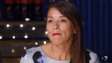 Celebrity judge Rachel Khoo advised Carmine and Lauren that the food they serve must show their passion.