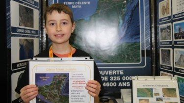 William Gadoury, 15, from Quebec has apparently discovered a lost Mayan city.