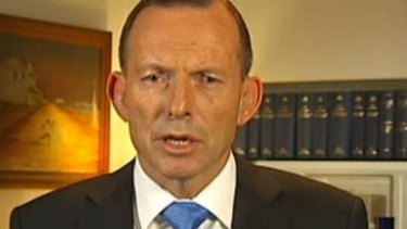 """""""Well I don't accept that."""" Tony Abbott hits back at Leigh Sales."""