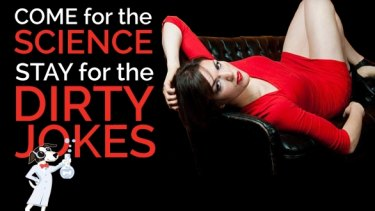 SciBabe offers more than science experiments in her irreverent blog.