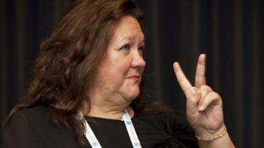 Gina Rinehart's Hancock Prospecting is bidding for Australia's largest cattle station.